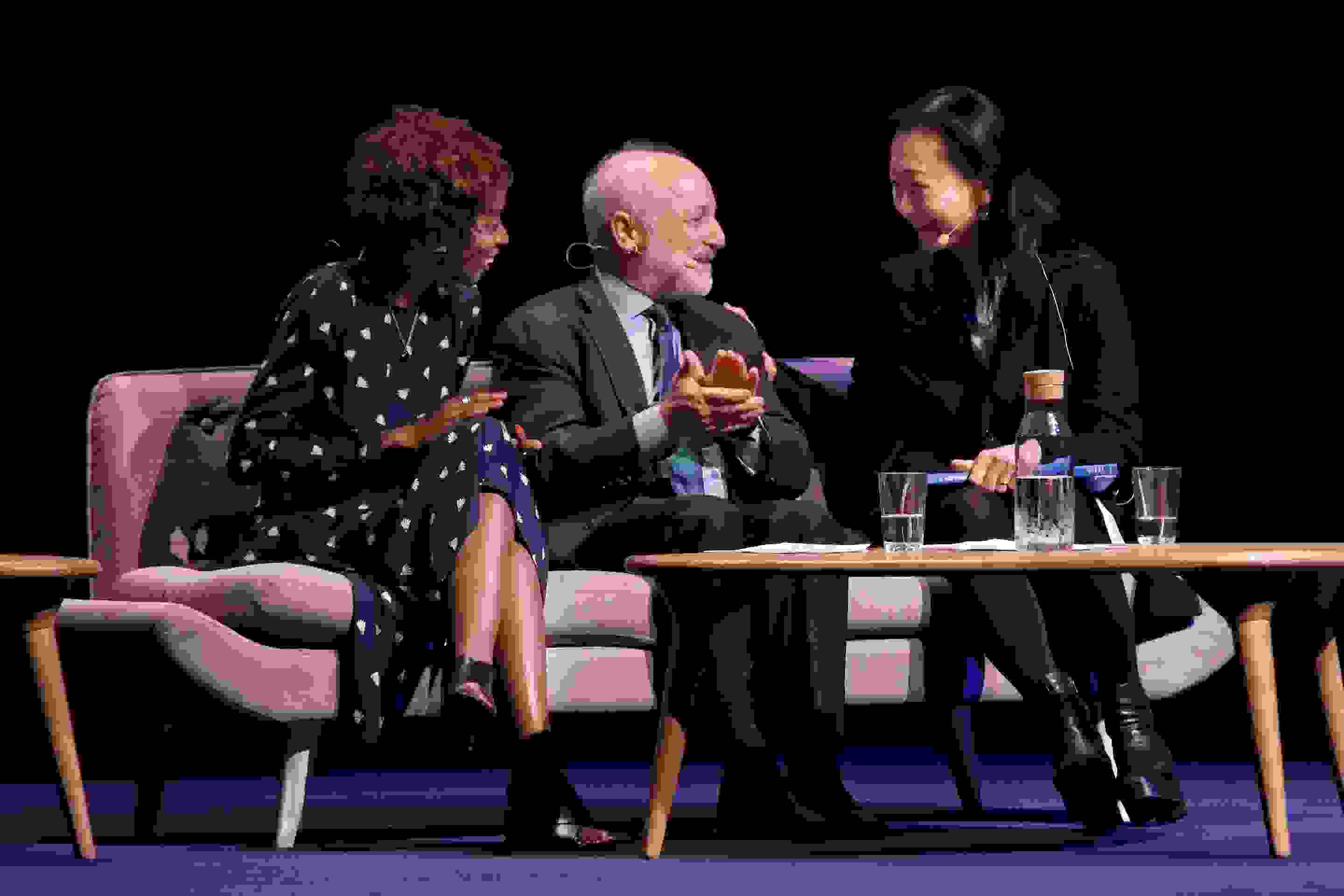 Alexis Okeowo, Andre Aciman and Min Jin Lee