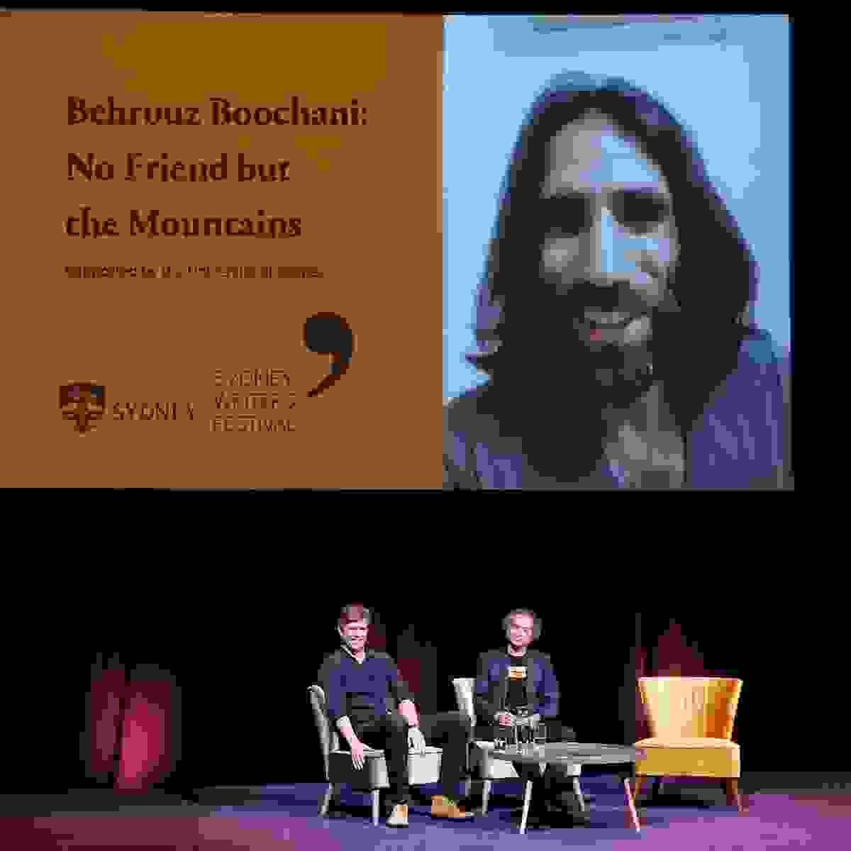 Listen: Behrouz Boochani: No Friend but the Mountains
