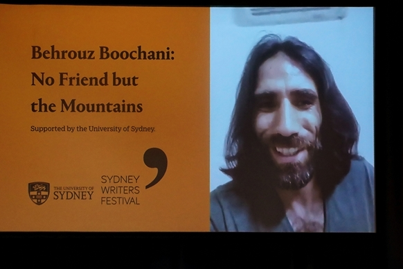 Listen: Behrouz Boochani: No Friend but the Mountains