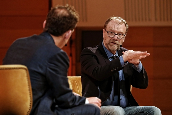 Listen: George Saunders in conversation with Paul Holdengräber